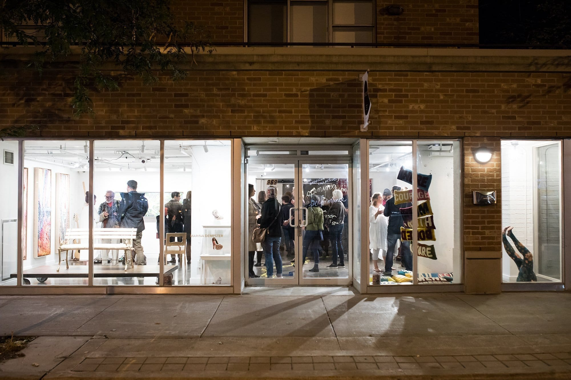 The Lyceum Gallery street view<br/><small>Christina Gapic Photography</small>