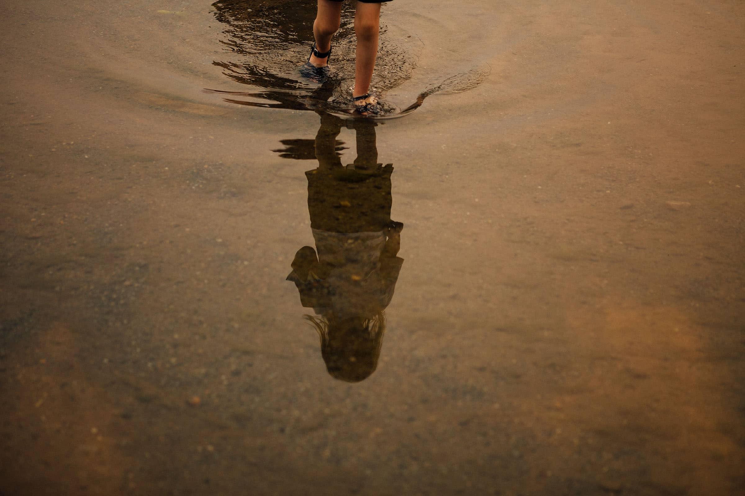 """Wading"", photograph by Melanie Gordon"