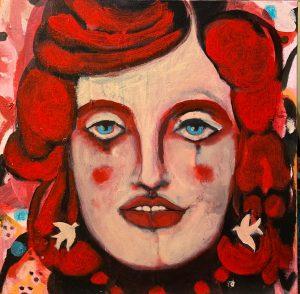 Doll Head by Rita Koos