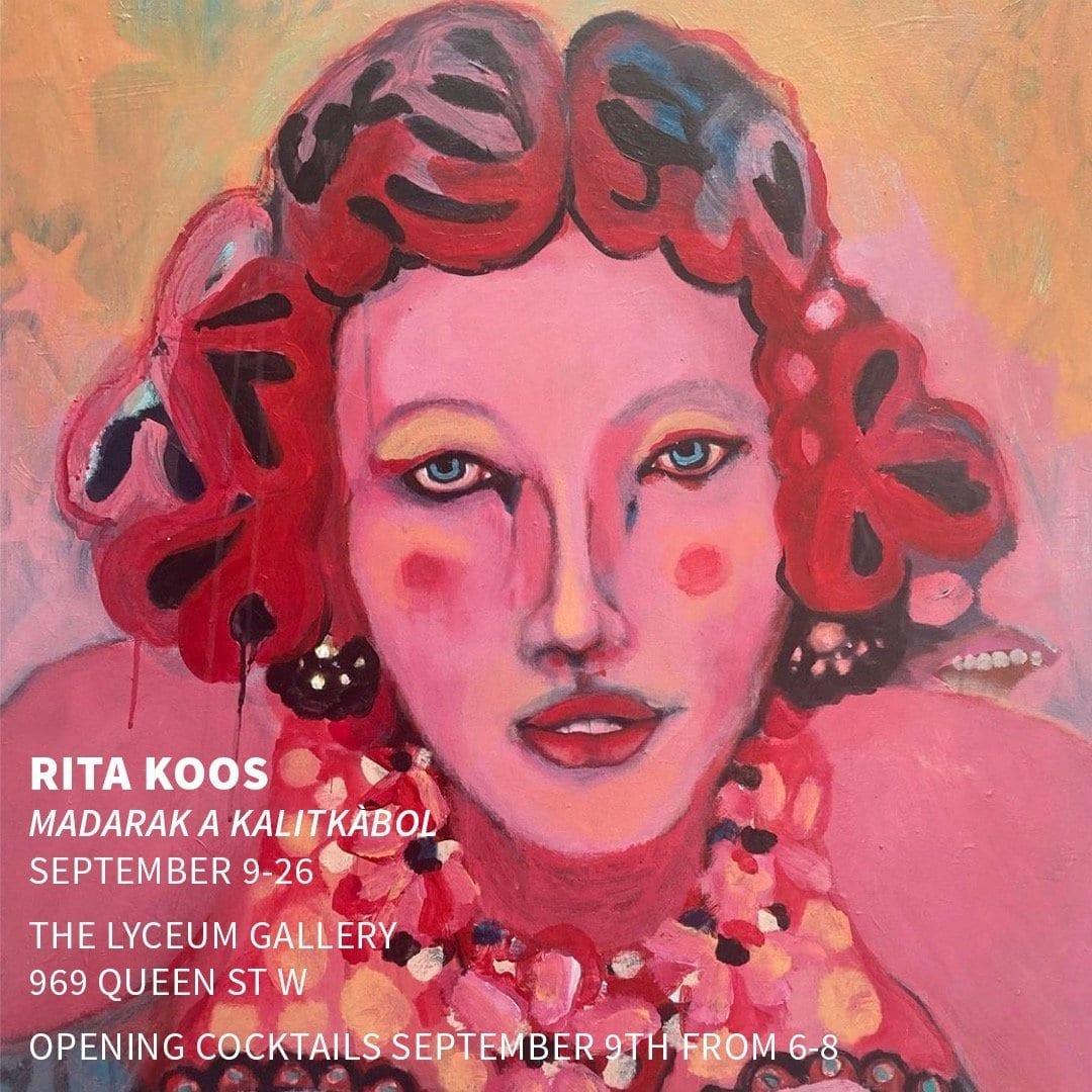 Madarak a Kalitkàbol exhibition by Rita Koos at The Lyceum Gallery
