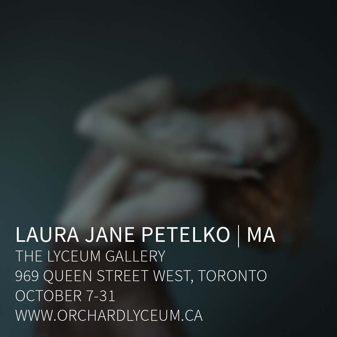 """Cover image for """"MA"""" an exhibition of the latest photographs by Laura Jane Petelko at The Lyceum Gallery"""